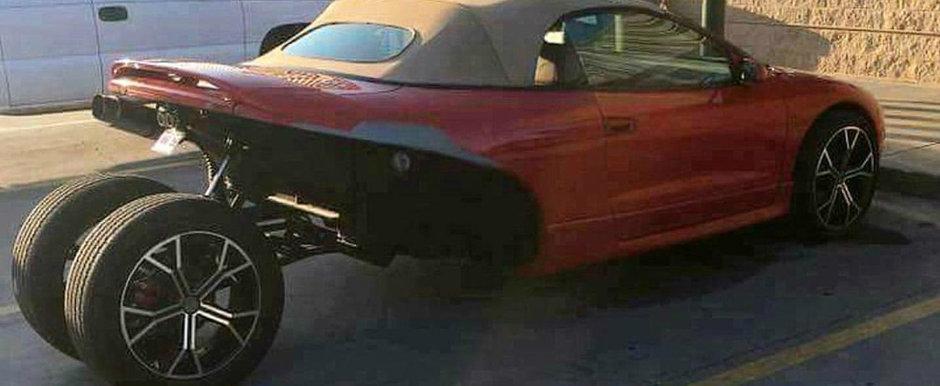SPOILER ALERT: Contrar a ceea ce pare, acesta chiar ESTE un Mitsubishi Eclipse!