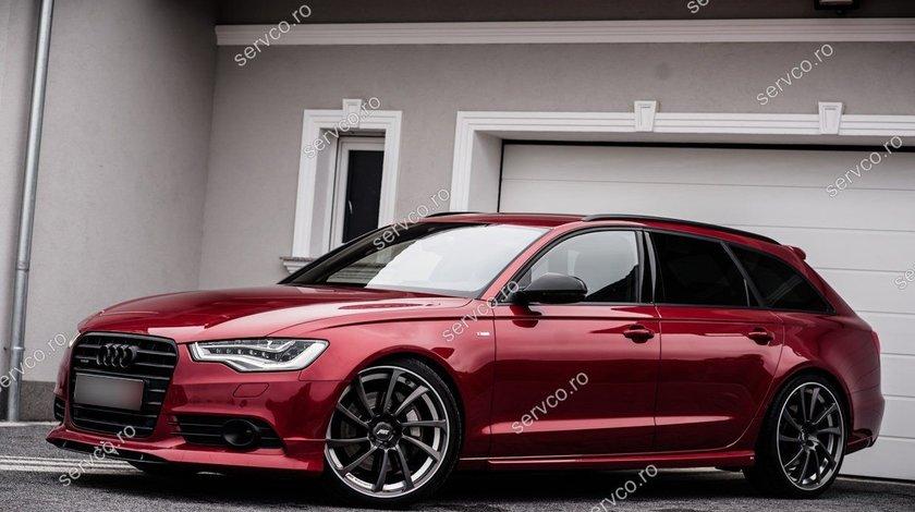 Spoiler bara fata Audi A6 4G C7 2011 2012 2013 2014 ABT Sline S6 Rs6