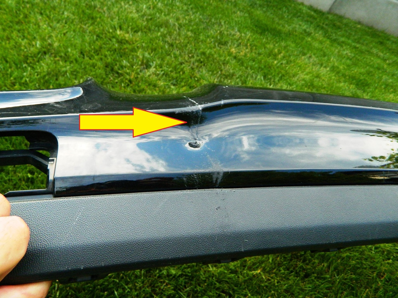 Spoiler difuzor bara spate Mercedes GLA An 2012-2015 cod A1568850925