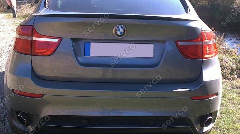 spoiler Eleron BMW X6 E71 E72 Mlook pachet M tech ver1