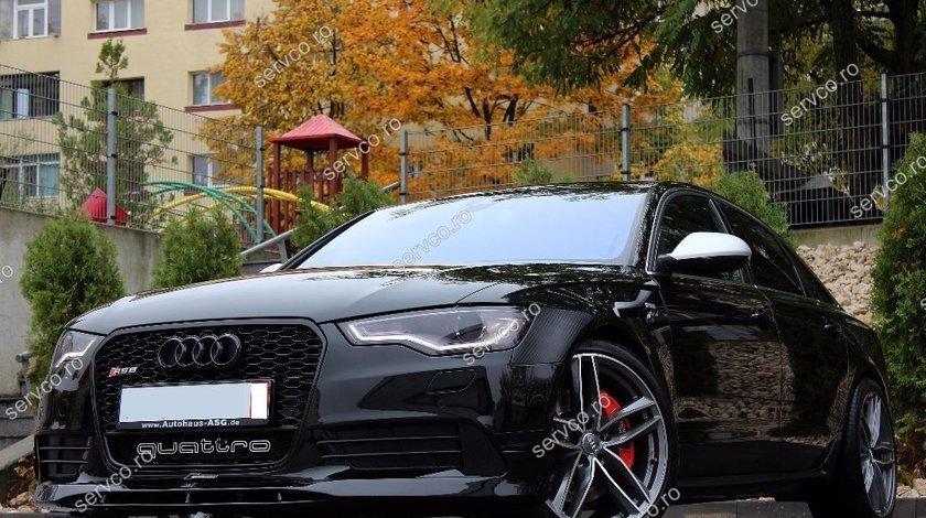 Spoiler fusta adaos prelungire bara fata Audi A6 4G C7 Sline S6 RS6 ABT