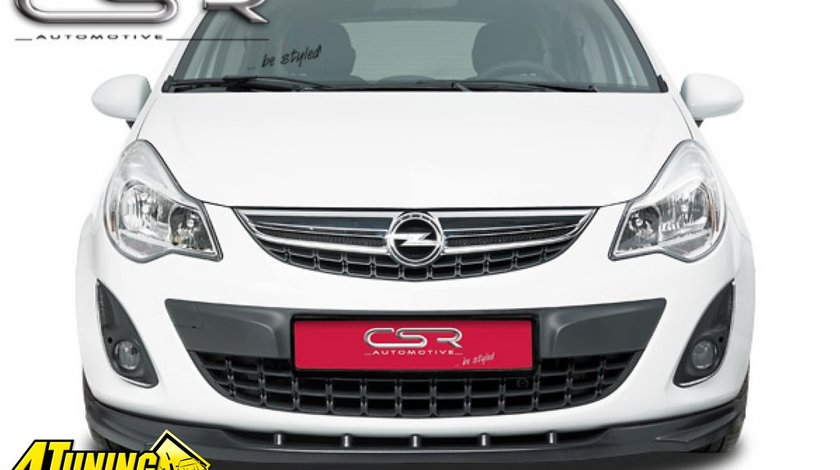 Spoiler Prelungire Bara Fata Opel Corsa D dupa 2010 CSL021