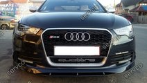 Spoiler S line Sline bara fata Audi A6 4G C7 2011 ...