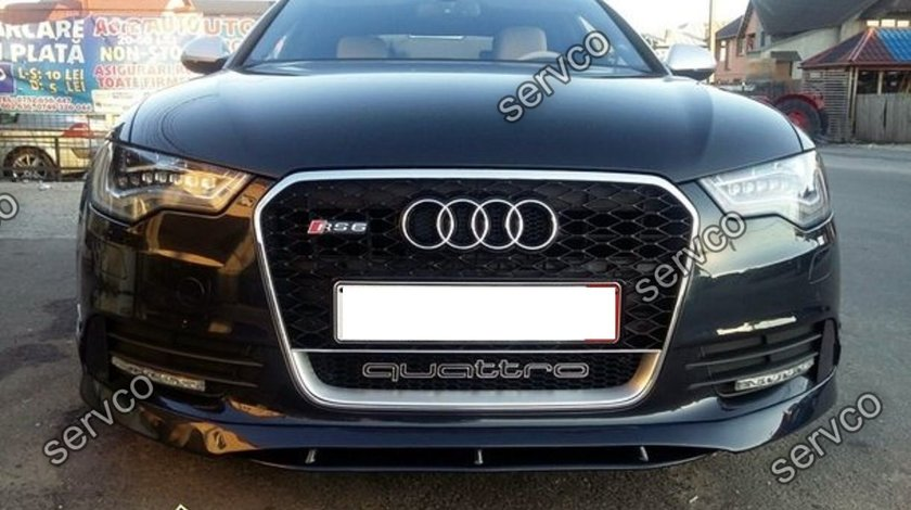 Spoiler S line Sline bara fata Audi A6 4G C7 2011 2012 2013 2014