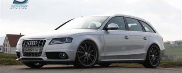 Sportec modifica noul Audi S4 Avant