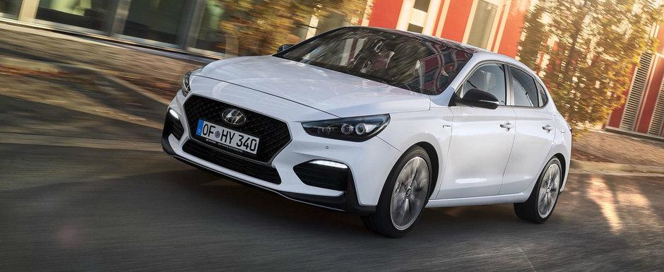 Sportiva de buget. Hyundai lanseaza nivelul de echipare N Line pentru modelul i30 Fastback