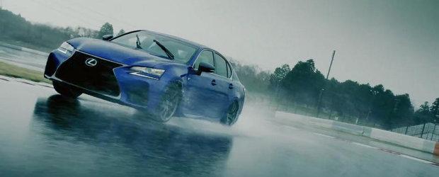 Spotul noului Lexus GS F ne-a convins sa-i acordam japonezului o sansa