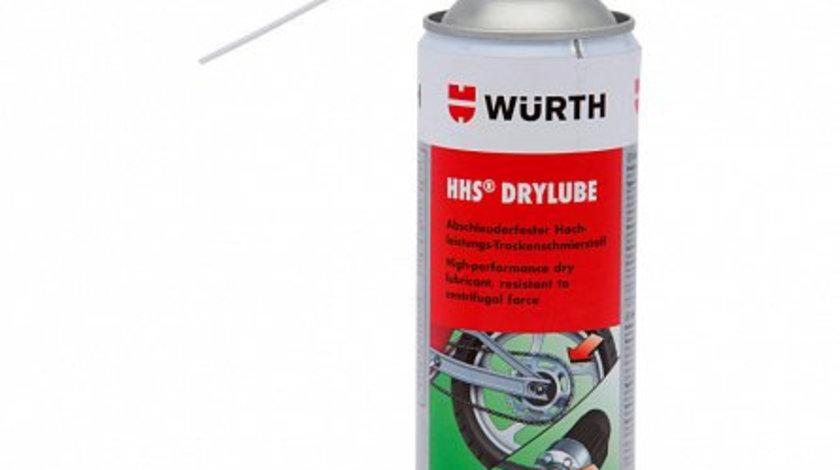 Spray ceara sintetica cu PTFE HHS Drylube, Wurth 400 ml cod intern: 893 106 6