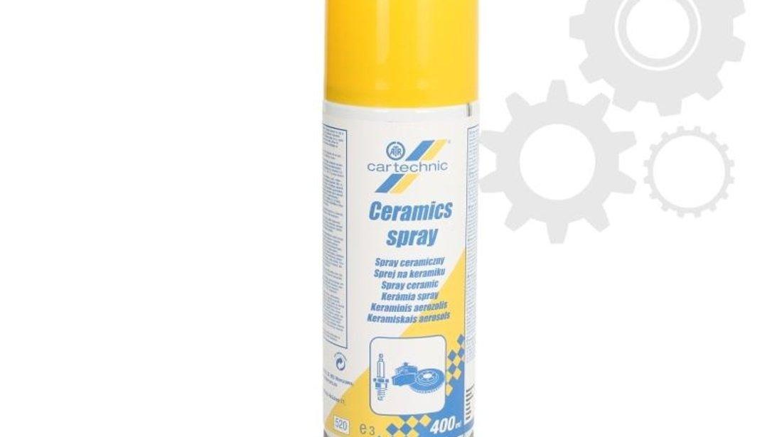 Spray cu vaselina ceramica pt temperaturi ridicate Cartechnic 400ml