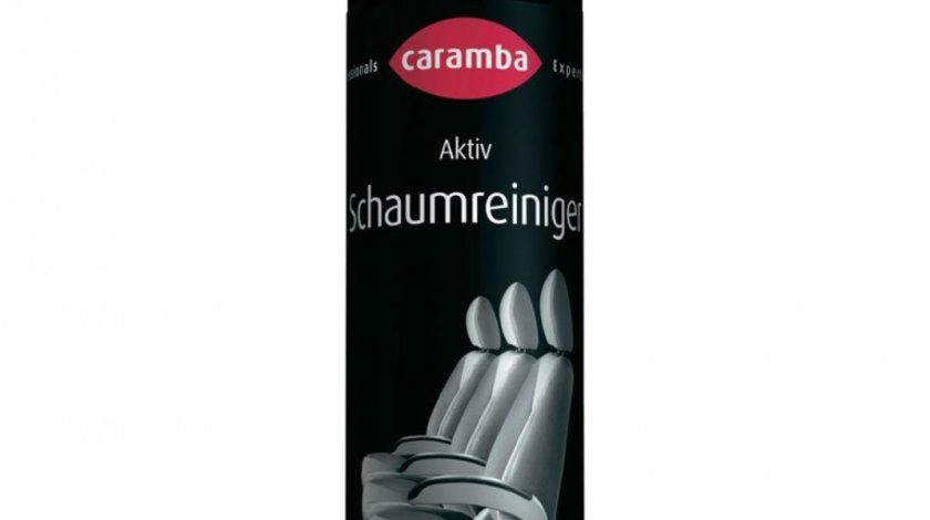 Spray curatat tapiteria Caramba pentru curatat mochete si scaune spuma activa , 500ml Kft Auto
