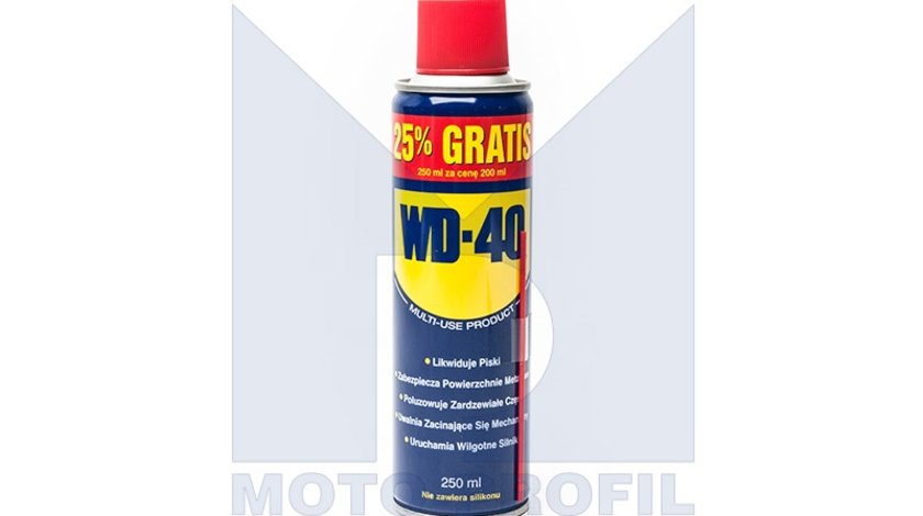Spray degripant WD40 , Lubrifiant Multifunctional WD-40 , 250ml Kft Auto