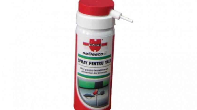 Spray pentru yale Wurth, 50 ml cod intern: 893052