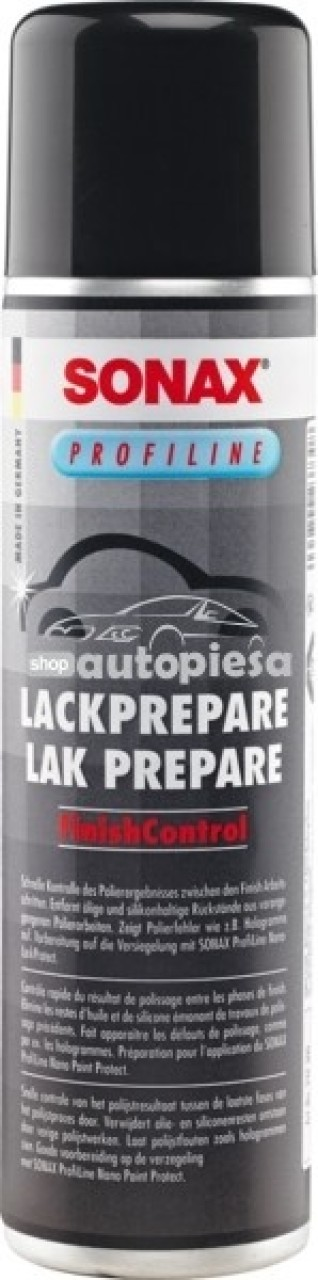 Spray pregatire suprafete vopsite SONAX 400 ml SO237300 piesa NOUA
