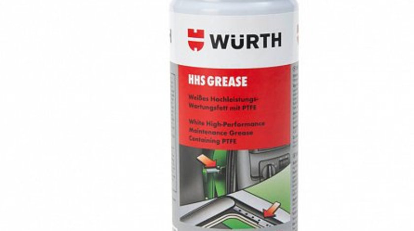 Spray vaselina alba cu PTFE, Wurth 400 ml cod intern: 893 106 7