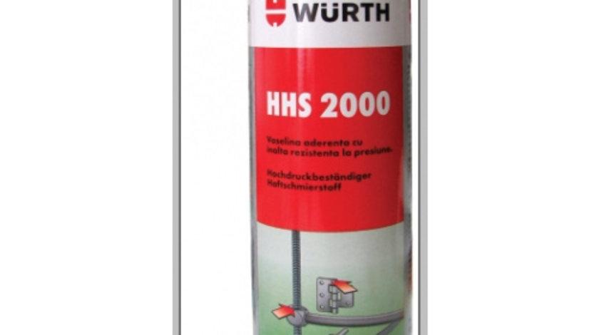 Spray vaselina rezistent temperaturi inalte HHS 2000 500 ml Wurth