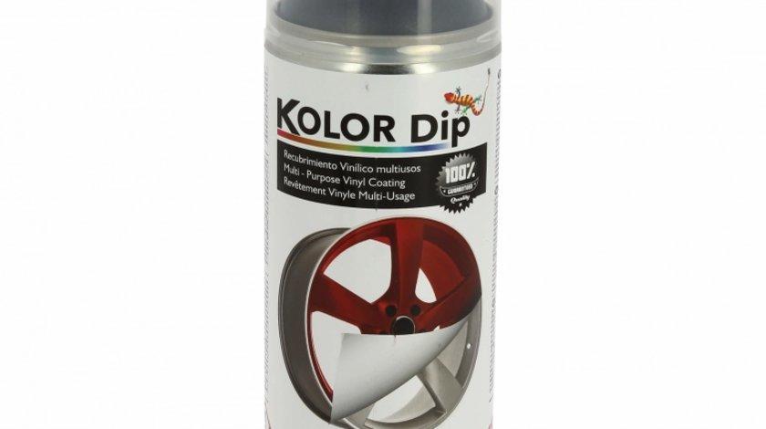 Spray vopsea cauciucata Kolor Dip Negru Anthracite 400ml