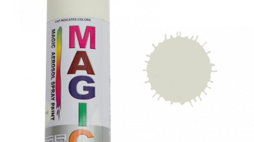 Spray vopsea MAGIC Alb mat , 400 ml.