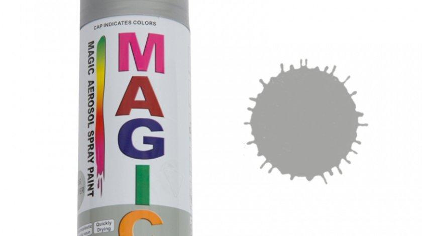 Spray vopsea MAGIC Argintiu , 400 ml.