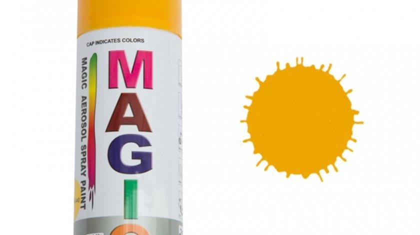 Spray vopsea MAGIC Galben 440 , 400 ml.