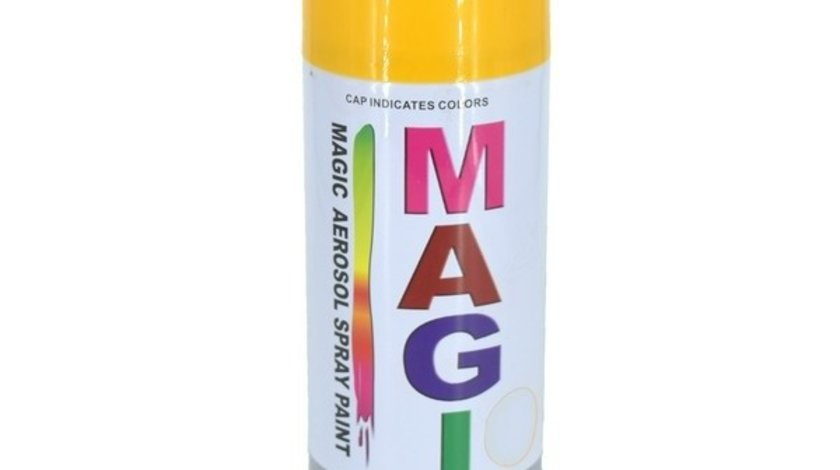 Spray vopsea MAGIC GALBEN SPORT 41A 400ml AutoCars