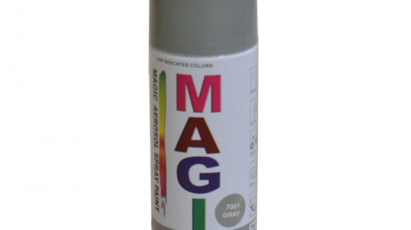 Spray vopsea MAGIC Gri 7001 , 400 ml