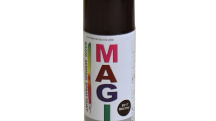 Spray vopsea MAGIC Maro 8017 , 400 ml