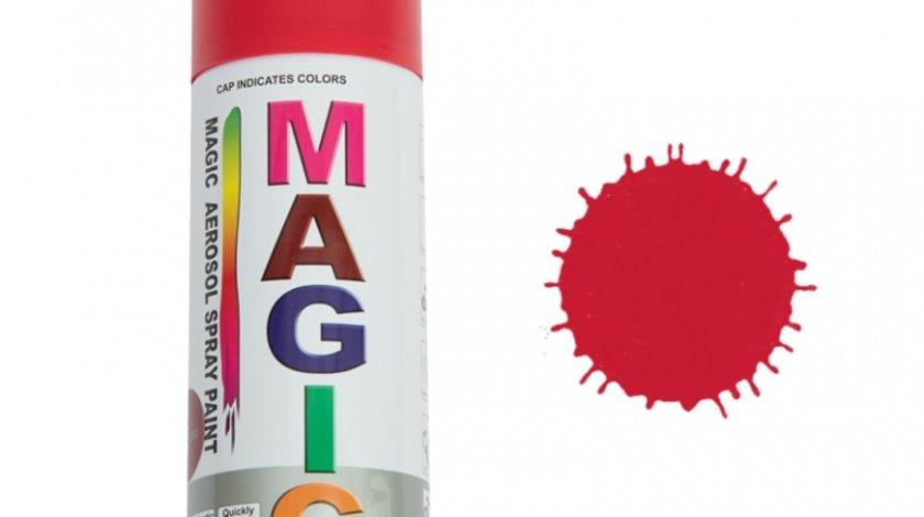 Spray vopsea MAGIC Rosu 250 , 400 ml.