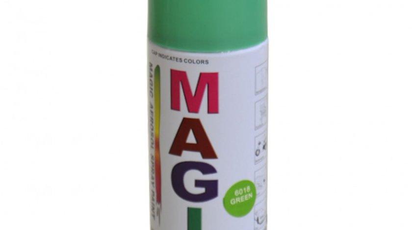 Spray vopsea MAGIC Verde 6018 , 400 ml