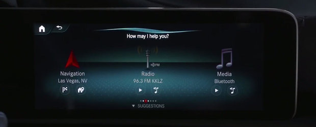Spui ca ti s-a facut frig, iar caldura porneste automat. Noua masina de la Mercedes e NEXT LEVEL!