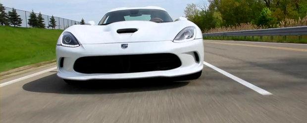 SRT scoate la licitatie un Viper GTS special creat. Totul pentru caritate!
