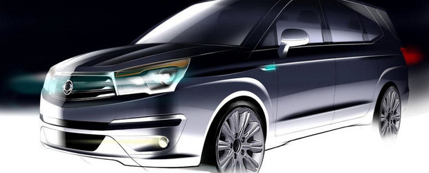Ssangyong Rodius - Primele imagini teaser