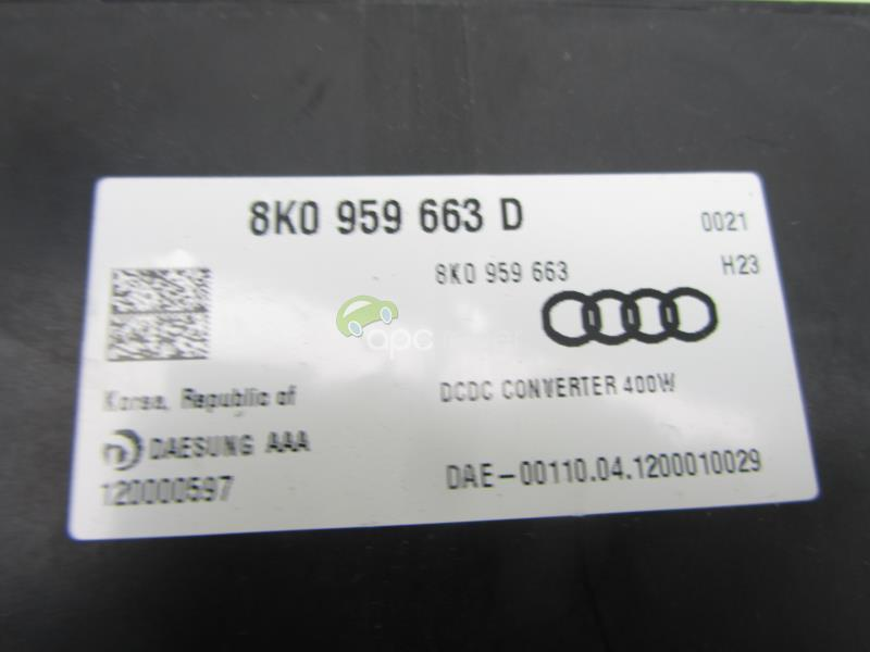 Stabilizator tensiune Audi A6 4g, A7 , A8 4H cod 8K0959663D
