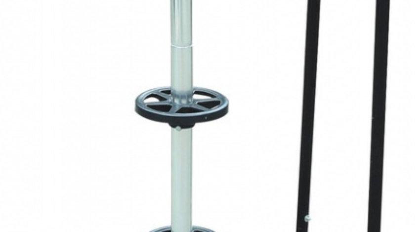 Stand de aluminiu Carpoint cu roti pentru depozitare rotii : anvelope cu jante (pentru jante de pana la 18 inches si latime max. 265 mm) Kft Auto
