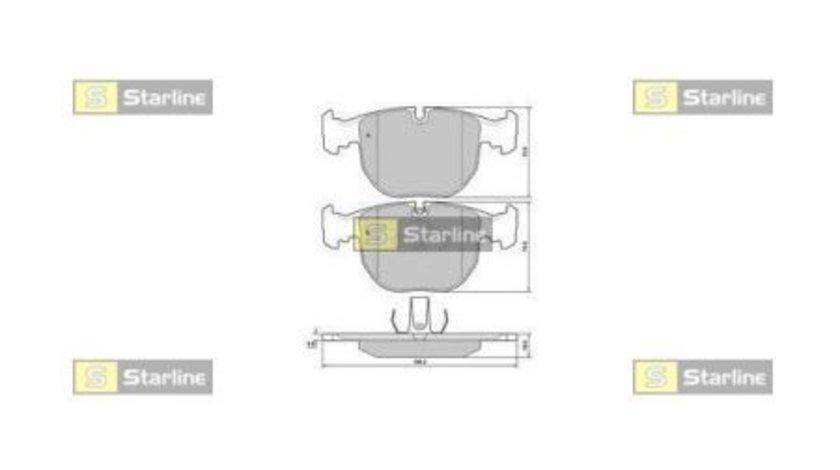 Starline set placute frana punte fata pt bmw 5(e39), x5(e53)