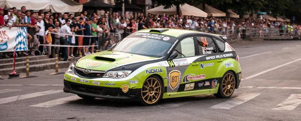 Start excelent pentru Napoca Rally Academy