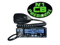 Statie CB President BARRY ASC FM 20W 12V/24V cu squelch automat