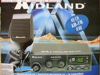 STATIE RADIO ALAN 100 PLUS B 4W AM si FM de la MIDLAND 299 LEI
