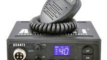STATIE RADIO CB AVANTI ALPHA 4W AVANTI 7916 <br>
