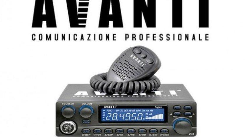 Statie Radio CB Avanti Kappa 2 Putere Reglabila Max.60W