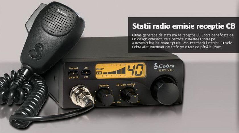 Statie Radio CB Emisie-Receptie Cobra 19DX 4W
