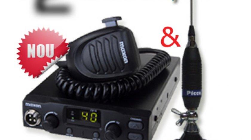 Statie radio completa Maxon CM10 cu antena Midland Picco 70 C