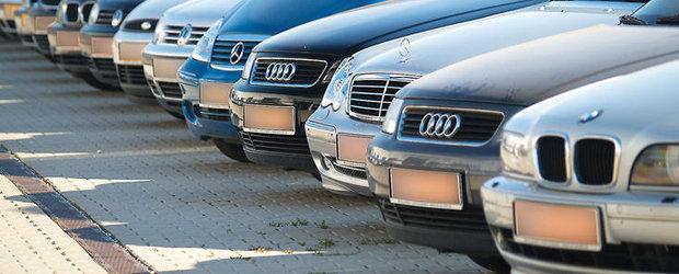 Statistica aprilie 2012: Inmatricularile de masini second hand s-au triplat