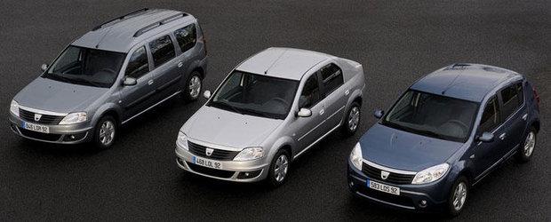 Statistica august: Inmatricularile Dacia au crescut cu 16% in UE