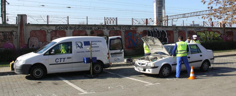 Statistica ingrijoratoare: pe drumurile din Romania circula zi de zi mii de masini cu defectiuni grave