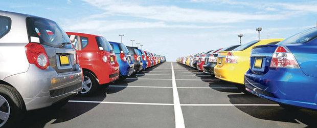 Statistica INS: Numarul masinilor inmatriculate a crescut cu 38% in 2012