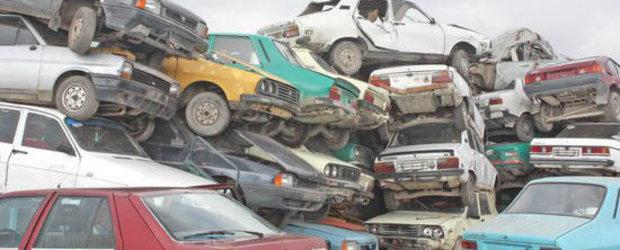 Statistici 2011: 116.000 masini vechi au fost scoase din circulatie prin programul Rabla