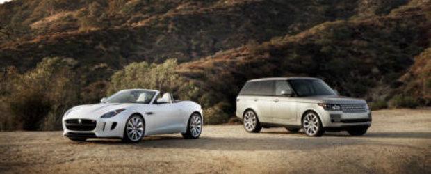 Statistici 2012: Vanzarile Jaguar Land Rover au crescut cu 30%