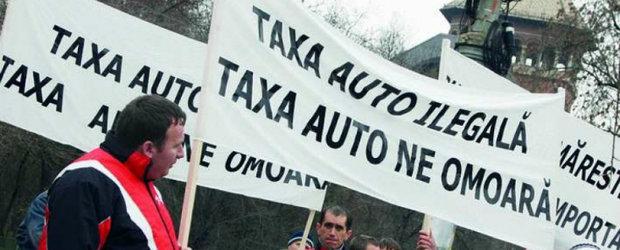 Statul risca o explozie de procese din cauza taxei auto