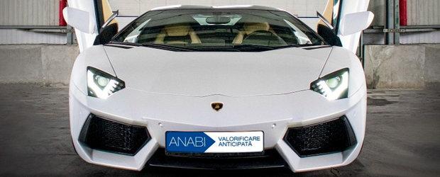 Statul roman scoate la vanzare un Lamborghini confiscat de DIICOT