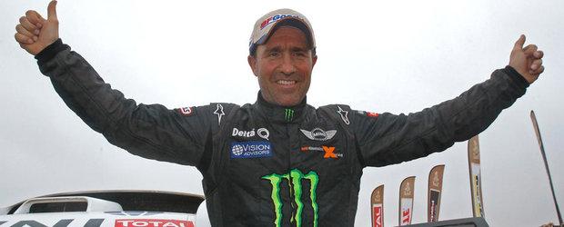 Stephane Peterhansel, castigatorul Raliului Dakar 2013